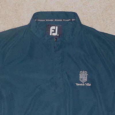 Warwick Hills, Men's Foot Joy Jacket, Medium, Green, Long Sleeve