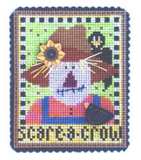 Primary image for Scare-A-Crow Spook of Month Kit halloween cross stitch Val's Stuff