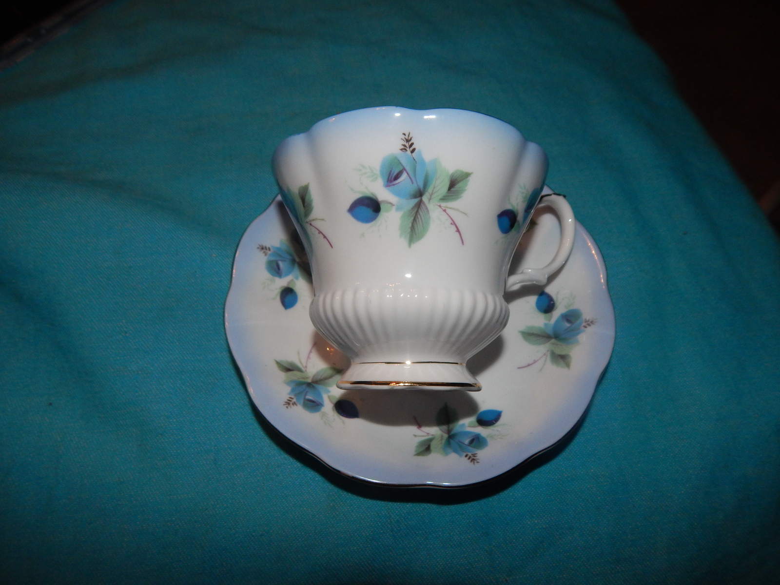 Royal  Albert cup and saucer bone China England Horizon Series Free shipping