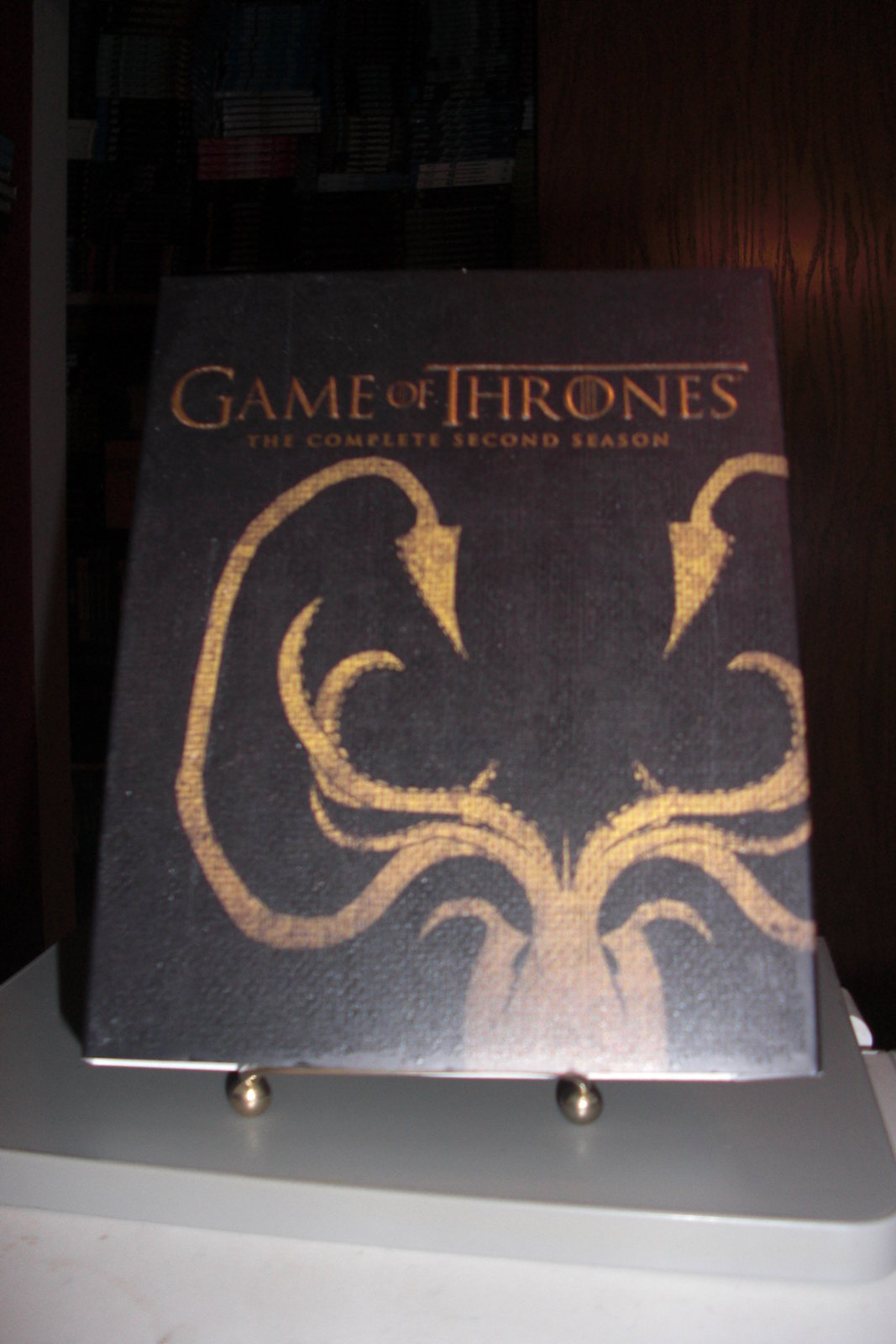 Game of Thrones: Season 2 Blu-ray Best Buy Exclusive Greyjoy Slip Only -No Discs
