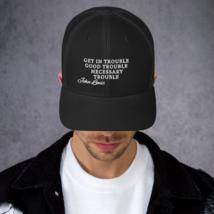 Good Trouble John Lewis Hat / Good Trouble Hat / John Lewis Trucker Cap image 4