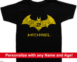 2nd birthday batman kids shirt black thumb155 crop