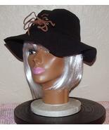 Unisex Floppy Suede Hat Black - $9.99