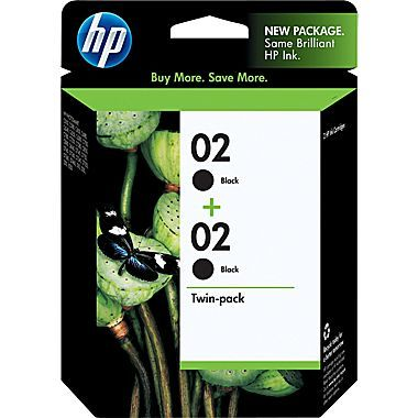 Hp 02 twin pack