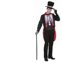 "Costume - Day of the Dead - Male - Size Standard - Mens ""Día de Muertos""... - $29.45"
