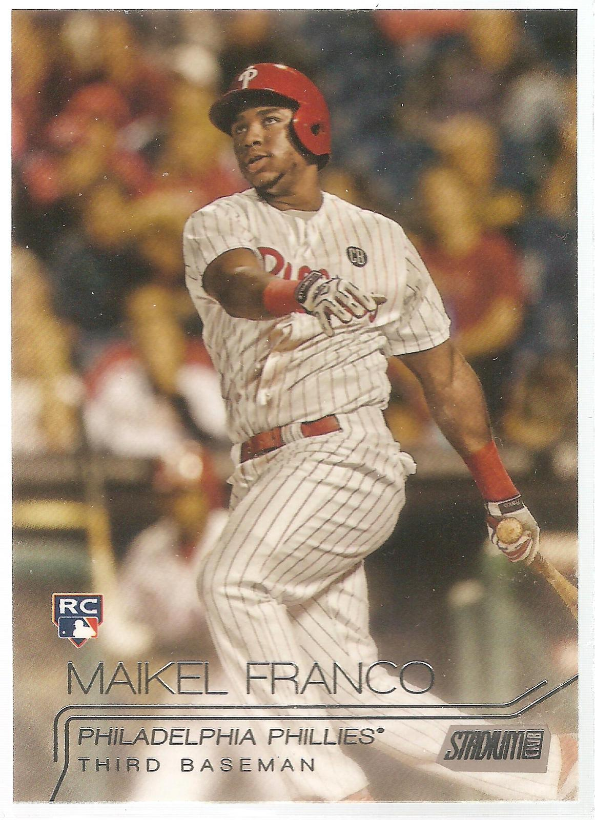 Maikel Franco Topps Staium Club 2015 #116 Rookie Card Philadelphia Phillies