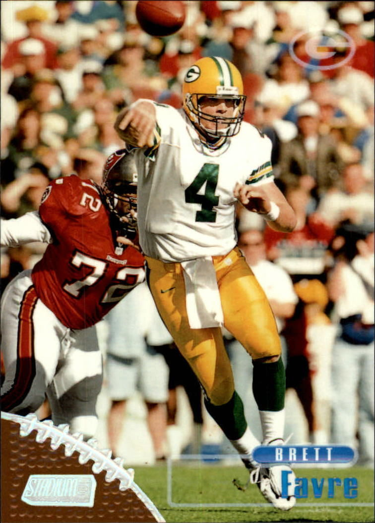 1998 Stadium Club #150 Brett Favre -Green Bay Packers-