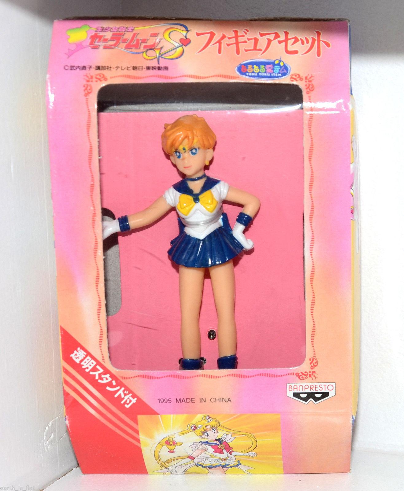 New Sailor Moon S 1995 Figure Set Banpresto Toru Toru Item Sailor Uranus Action