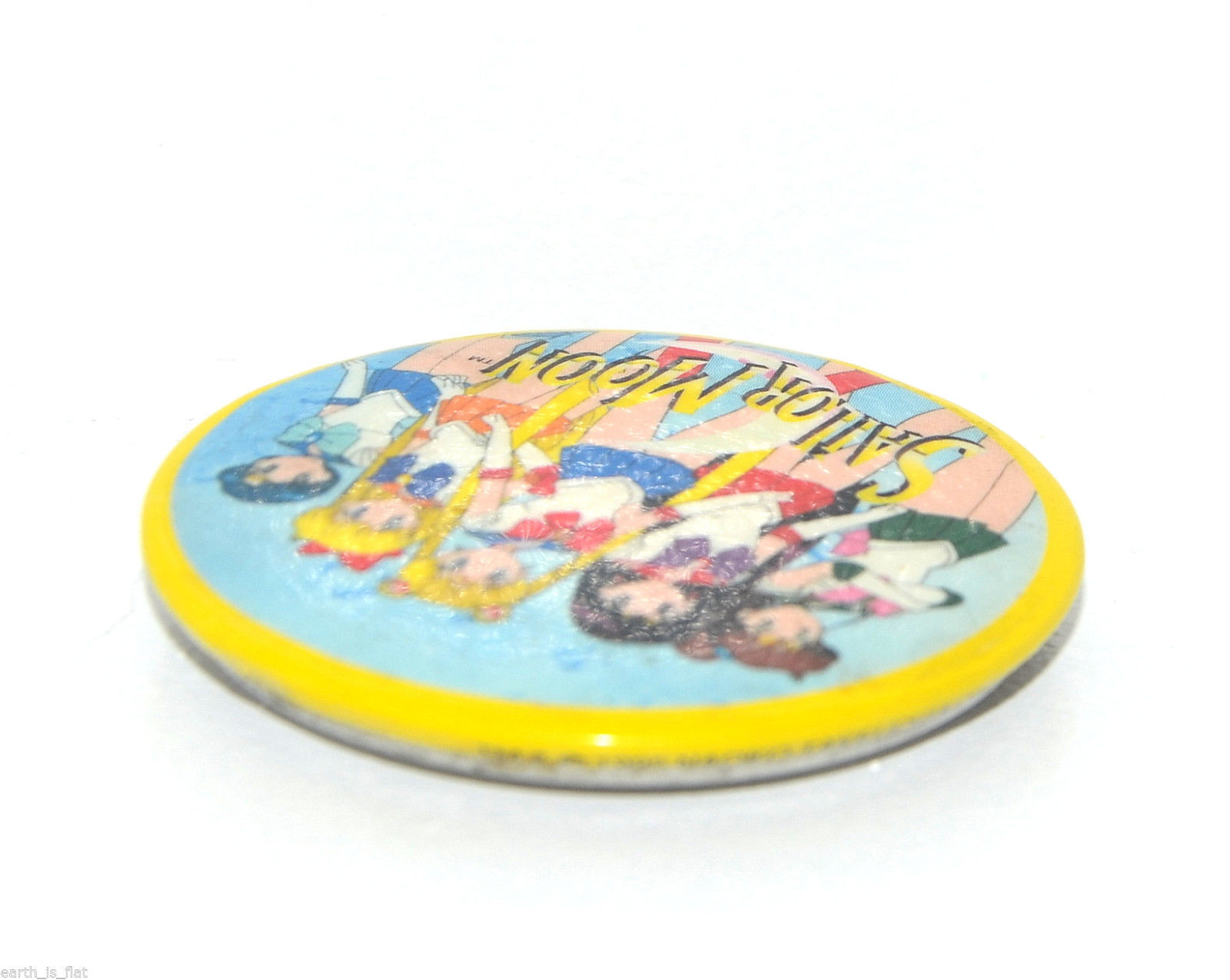 New Sailor Moon North American magnet official Canada USA round metal America