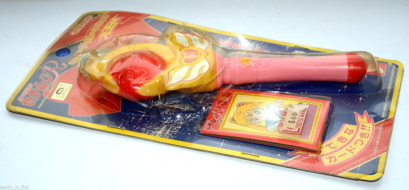 New Yutaka 1993 Japan Sailor Moon Cutey Cutie Moon Rod Wand Stick RPG cosplay
