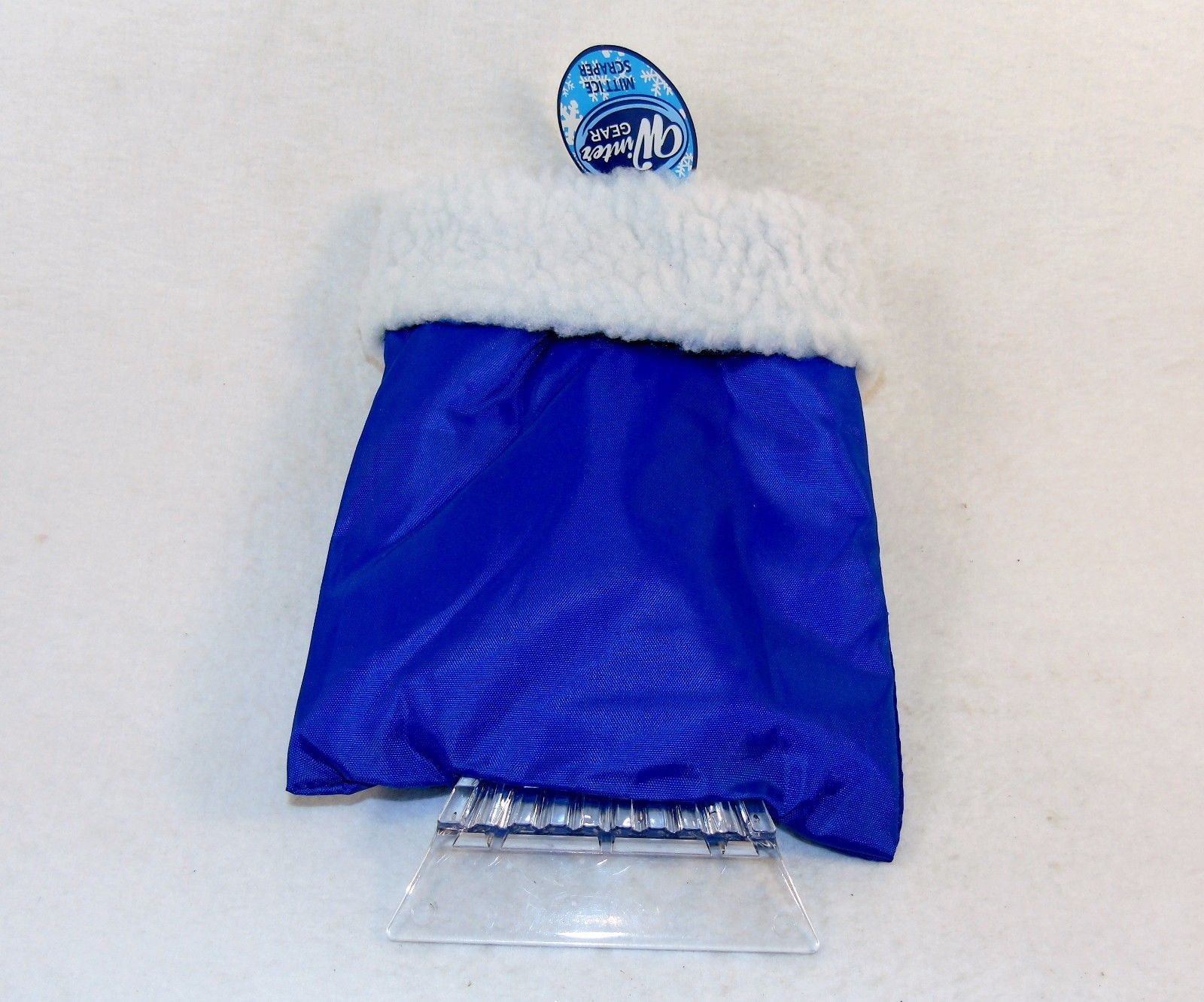 Ice Scraper Mitt ~ Set of 2, Red or Blue ~ Keeps Your Hand Warm While Scraping!