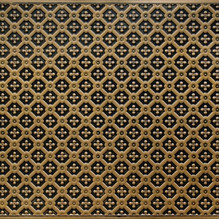 Faux Tin Glue Up PVC Bacskplash and Wallcovering Roll WC-25