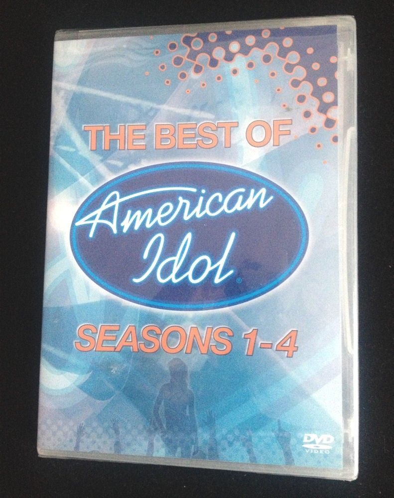 New American Idol - The Best of American Idol 1-4 (DVD, 2005) Sealed Gift