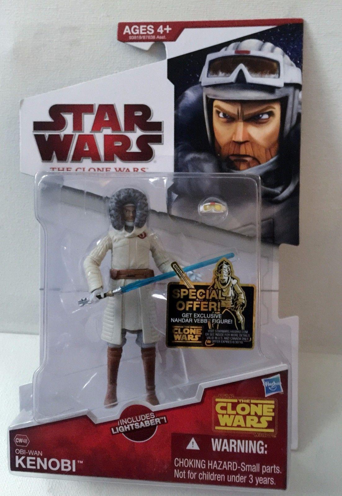 Star Wars Clone Wars 2009 CW48 Obi-Wan Kenobi