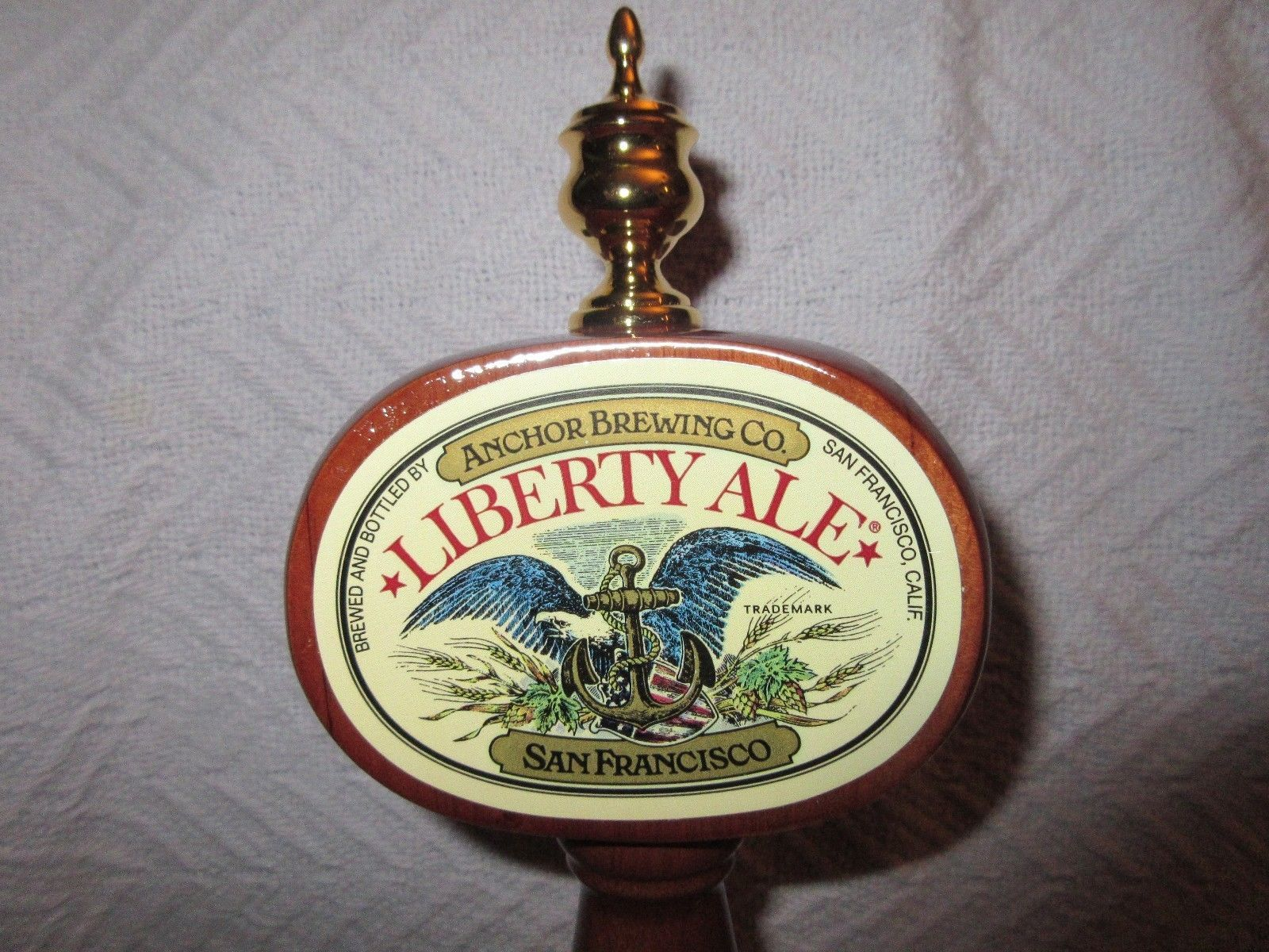 ANCHOR LIBERTY ALE BEER KEG TAP HANDLE- NEW IN BOX