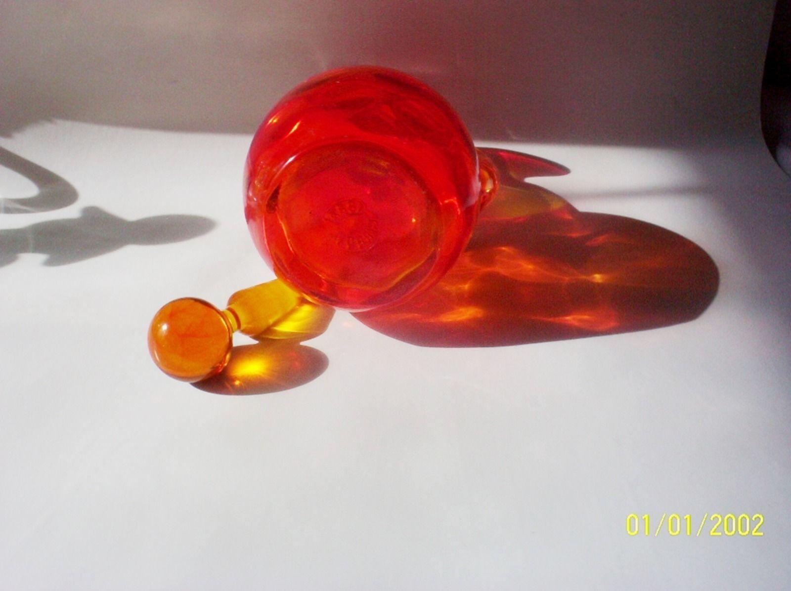 Gibson Art Glass Amberina Cruet