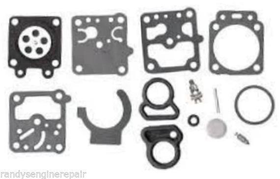 Walbro K10-WZ OEM Carburetor Rebuild Kit Fits Shindaiwa T20 R 20L Echo and more