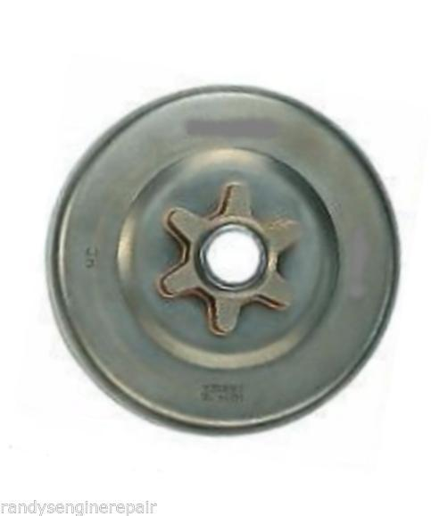 """MCCULLOCH 215252 3/8""""LP PITCH, 6 TEETH SPUR SPROCKET w/bearing for chainsaws"""