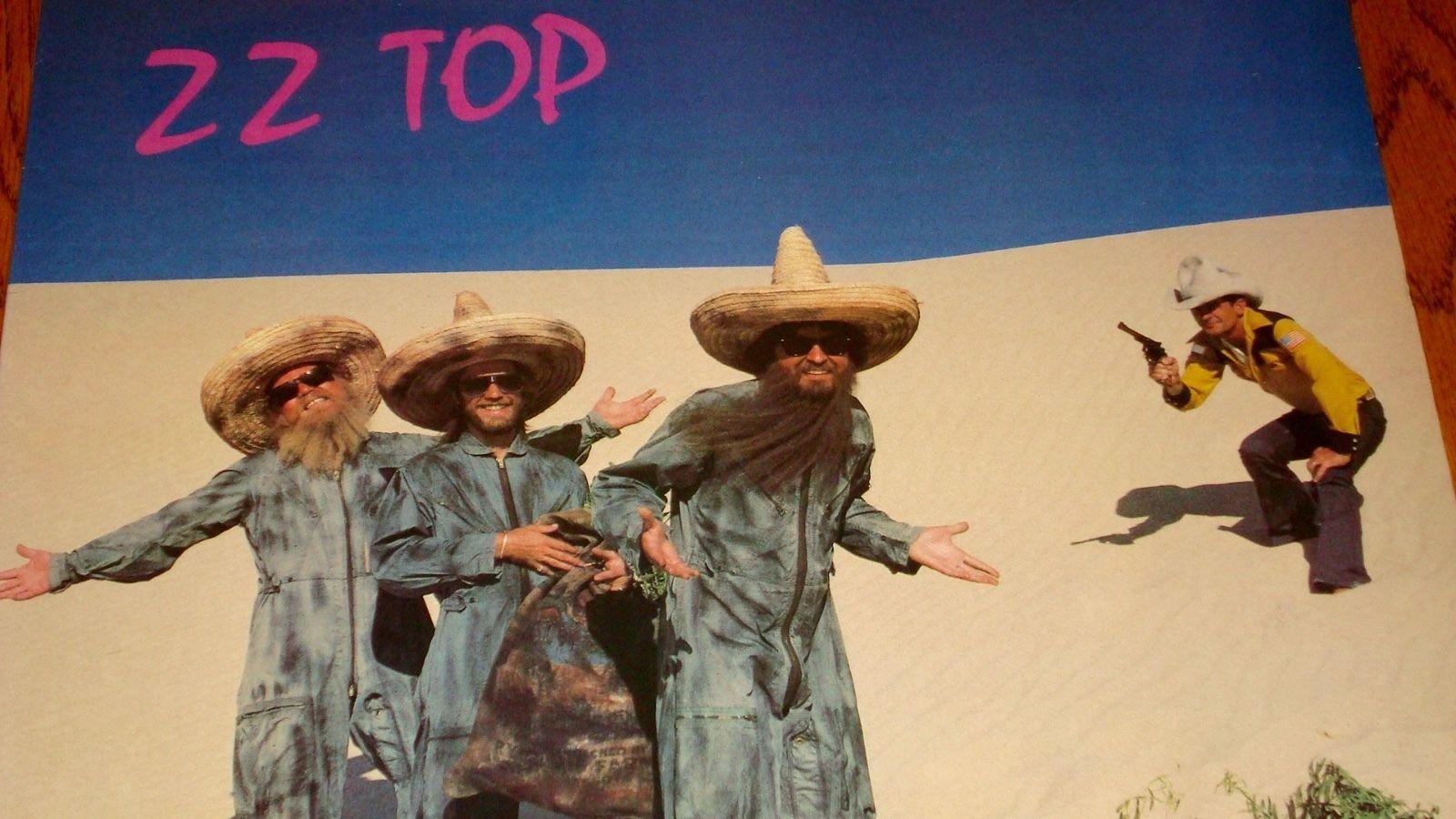 ZZ TOP EL LOCO ORIGINAL LP STILL FACTORY SEALED 1981