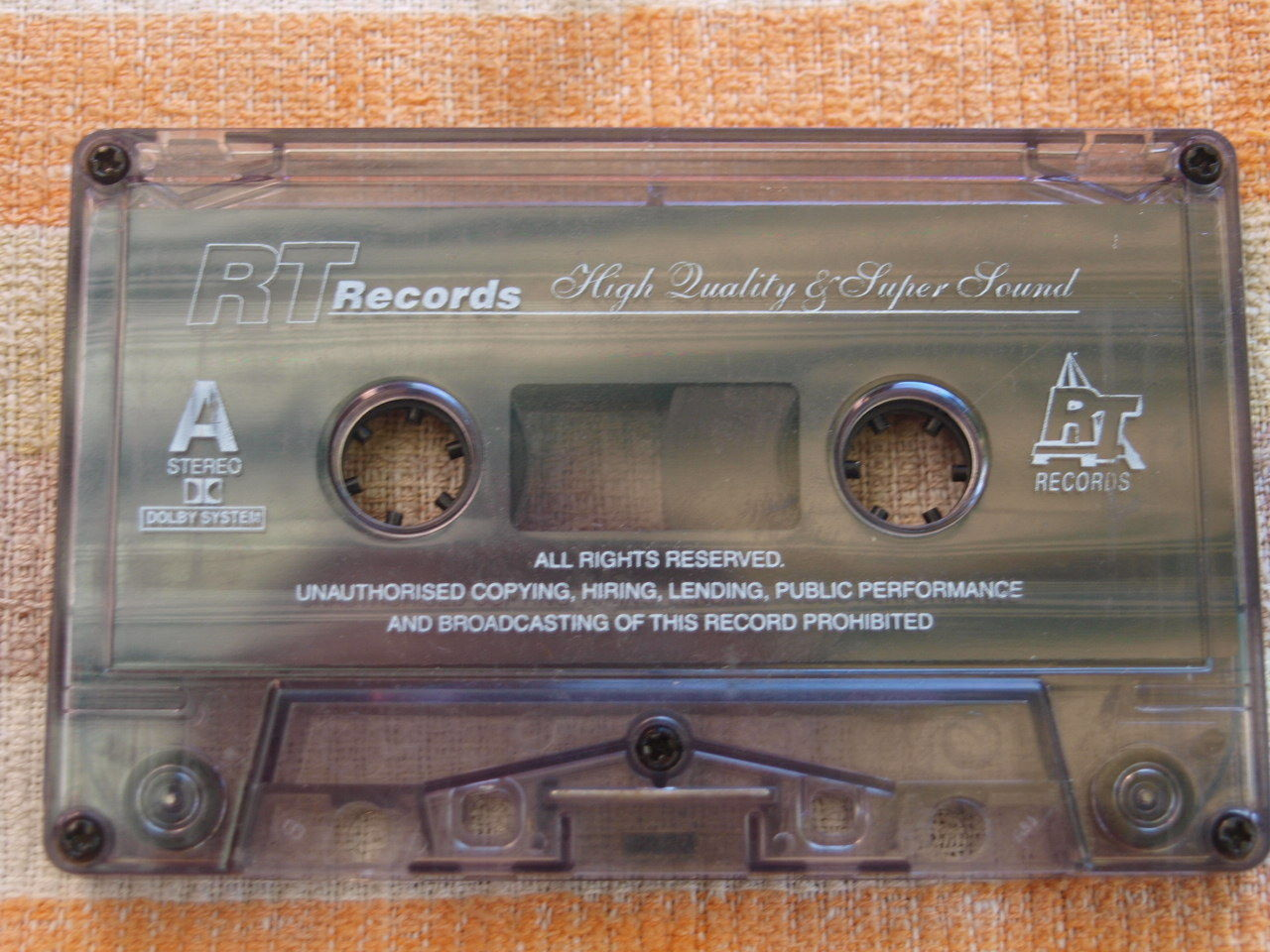 FUGEES THE SCORE POLISH CASSETTE MADE IN POLAND