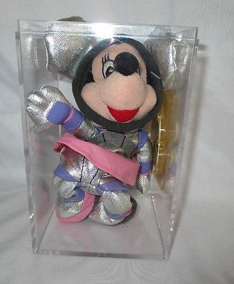 CLUB DISNEY PLUSH MINNIE MOUSE ASTRONAUT BEAN BAG TOY DOLL