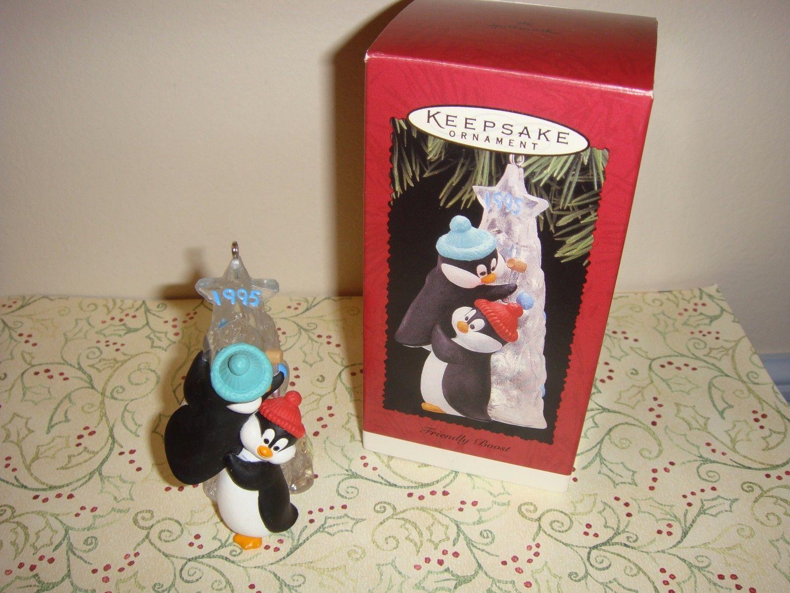 Hallmark 1995 Friendly Boost Ornament