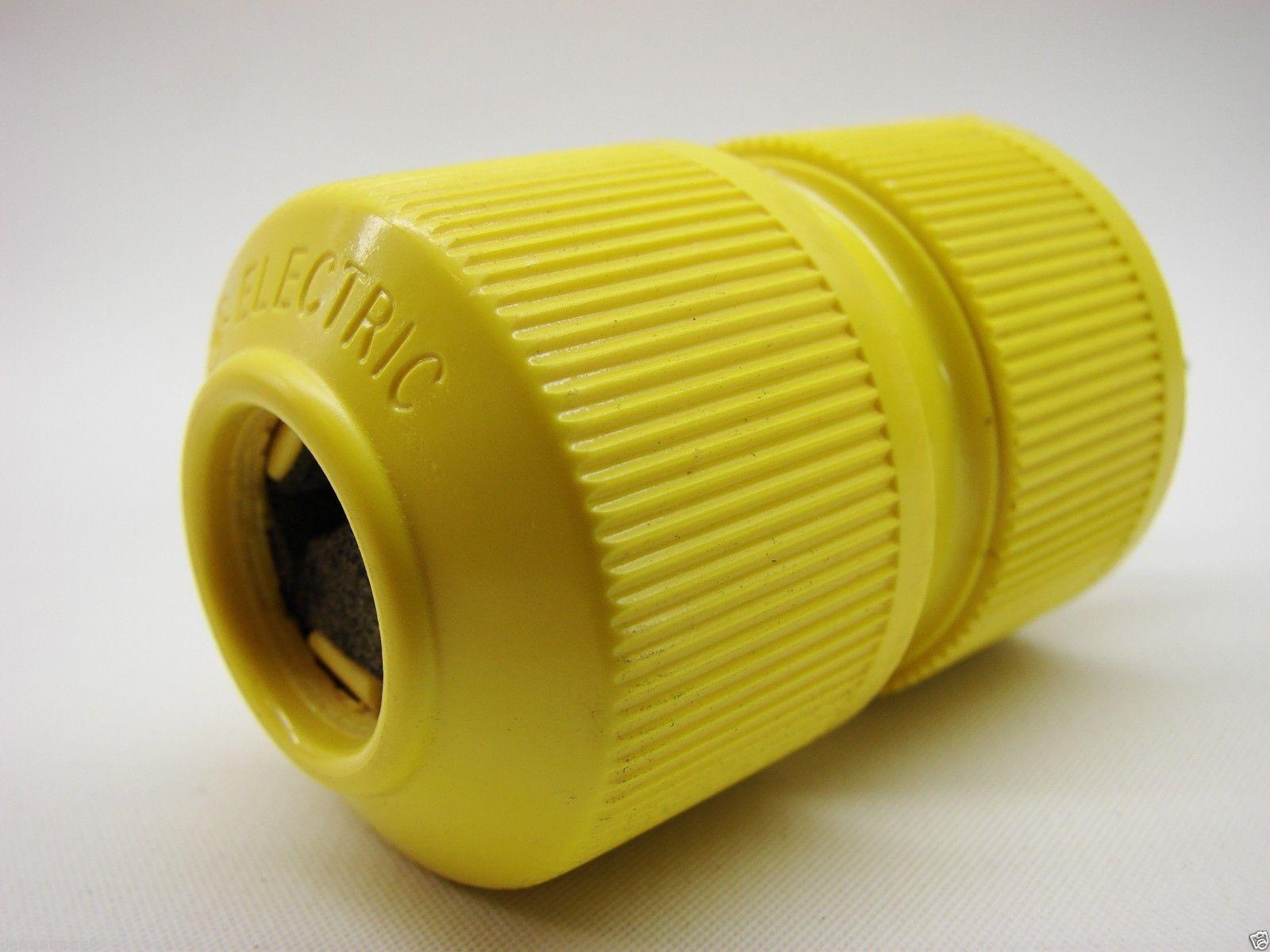 GE Plug GED-0621 Dyna-Mate II 250V 20A 2P/3W T-Slot NEMA 6-20P bb13