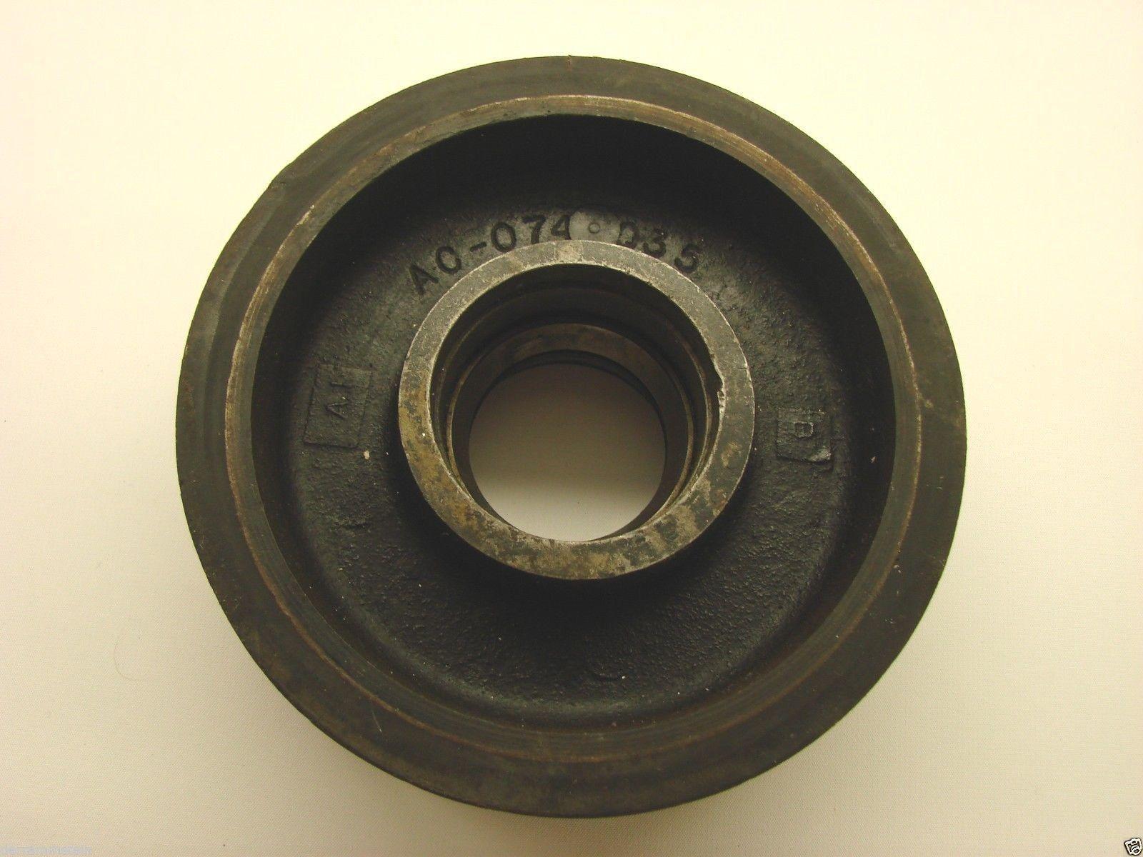"Pallet Jack Steer Wheel 6-3/4""x 2-1/4"" Poly On Cast"