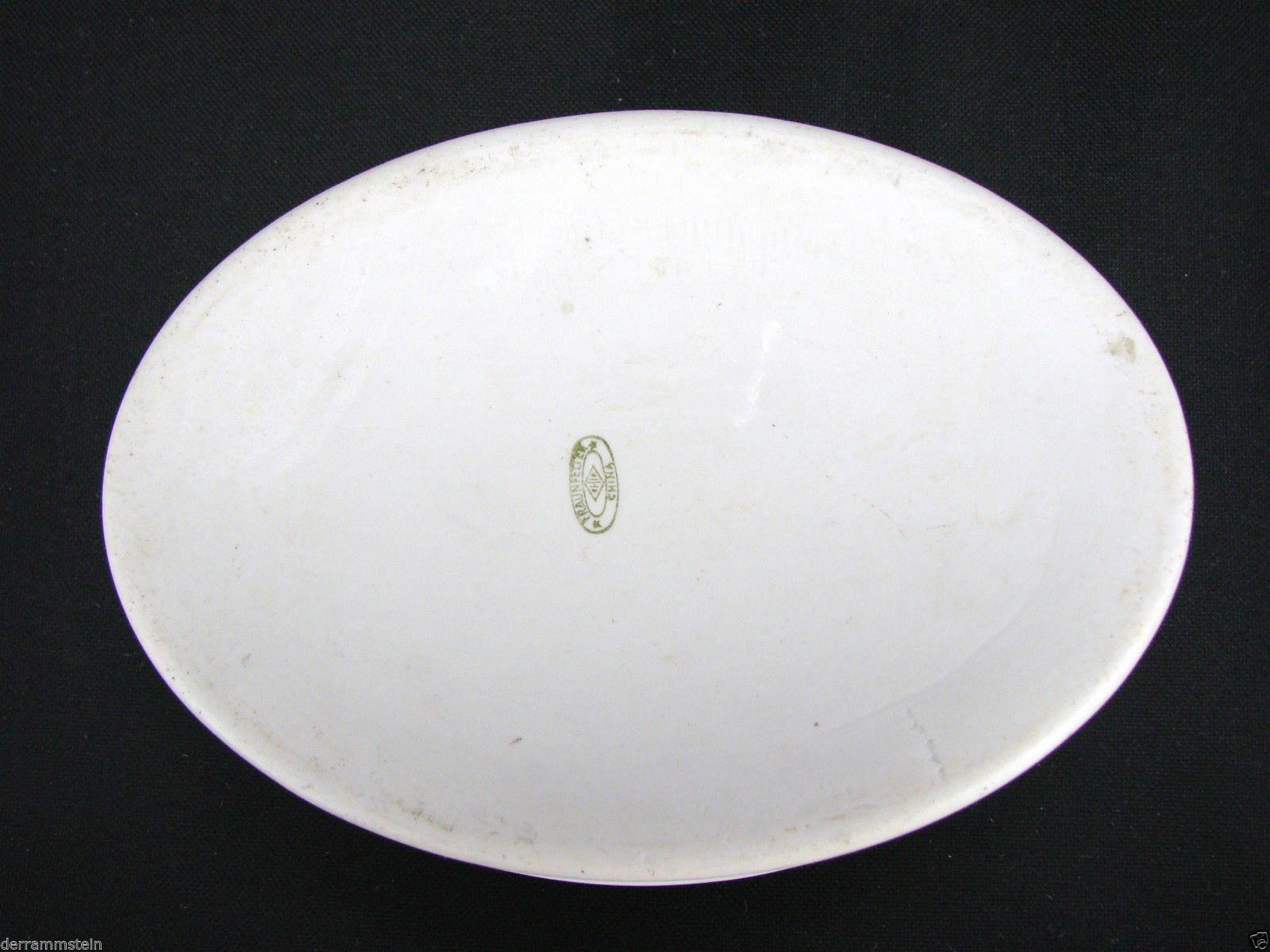 Vintage Fraunfelter White Pearl Lustre 1 Quart Casserole Dish
