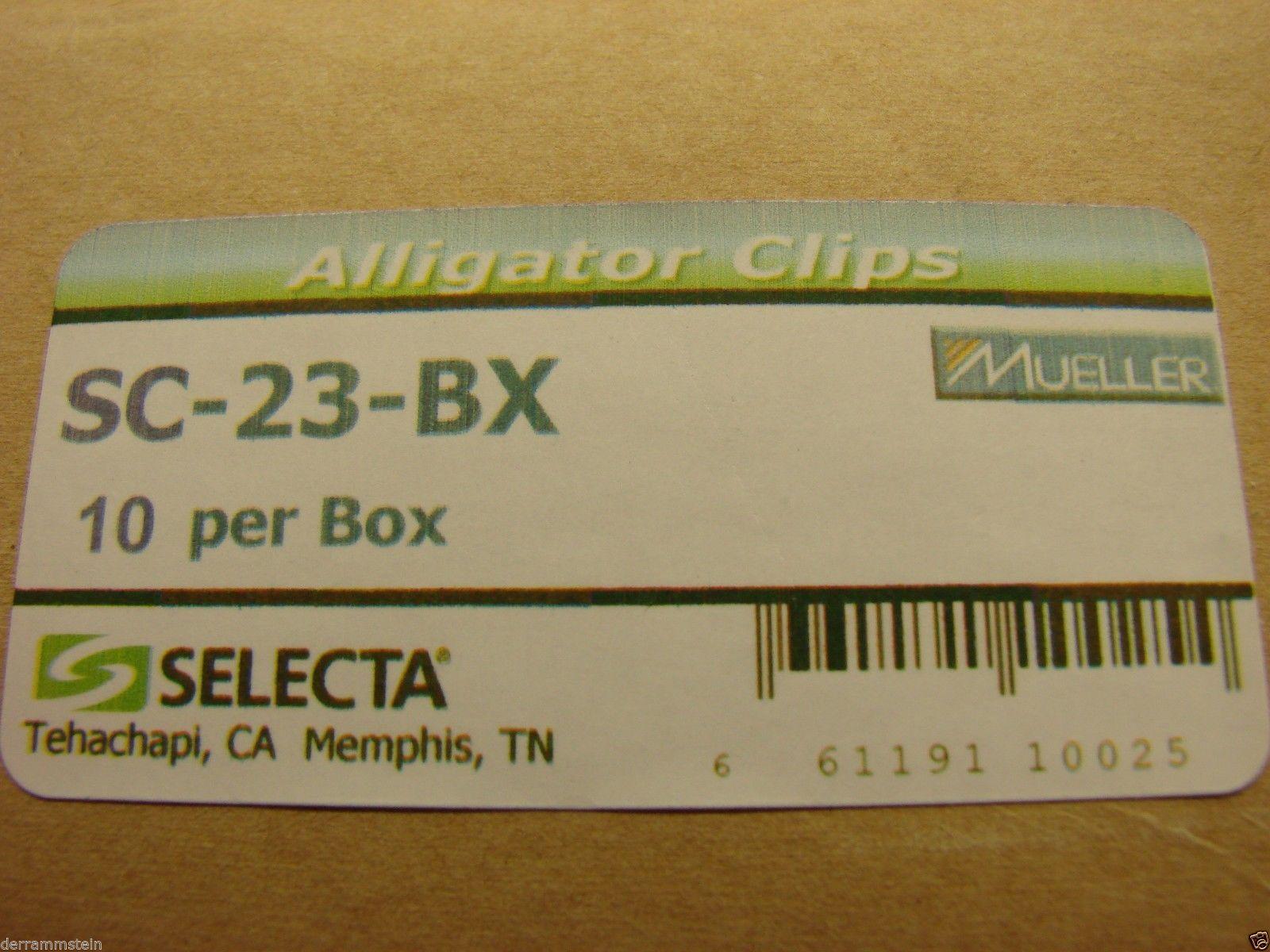 Selecta SC-23-BX Heavy Duty Clip Insulators New (1) pair                      B1