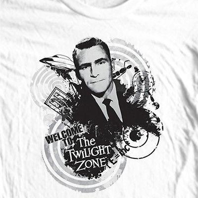 The Twilight Zone T shirt vintage science fiction TV show 100% cotton men's tee