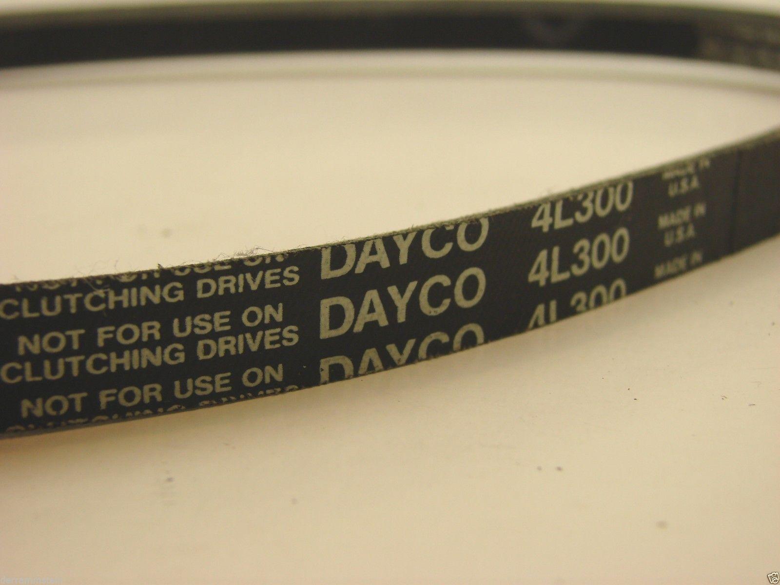 "DAYCO 4L300 FHP V-BELT 1/2"" X 29.85"" b75"