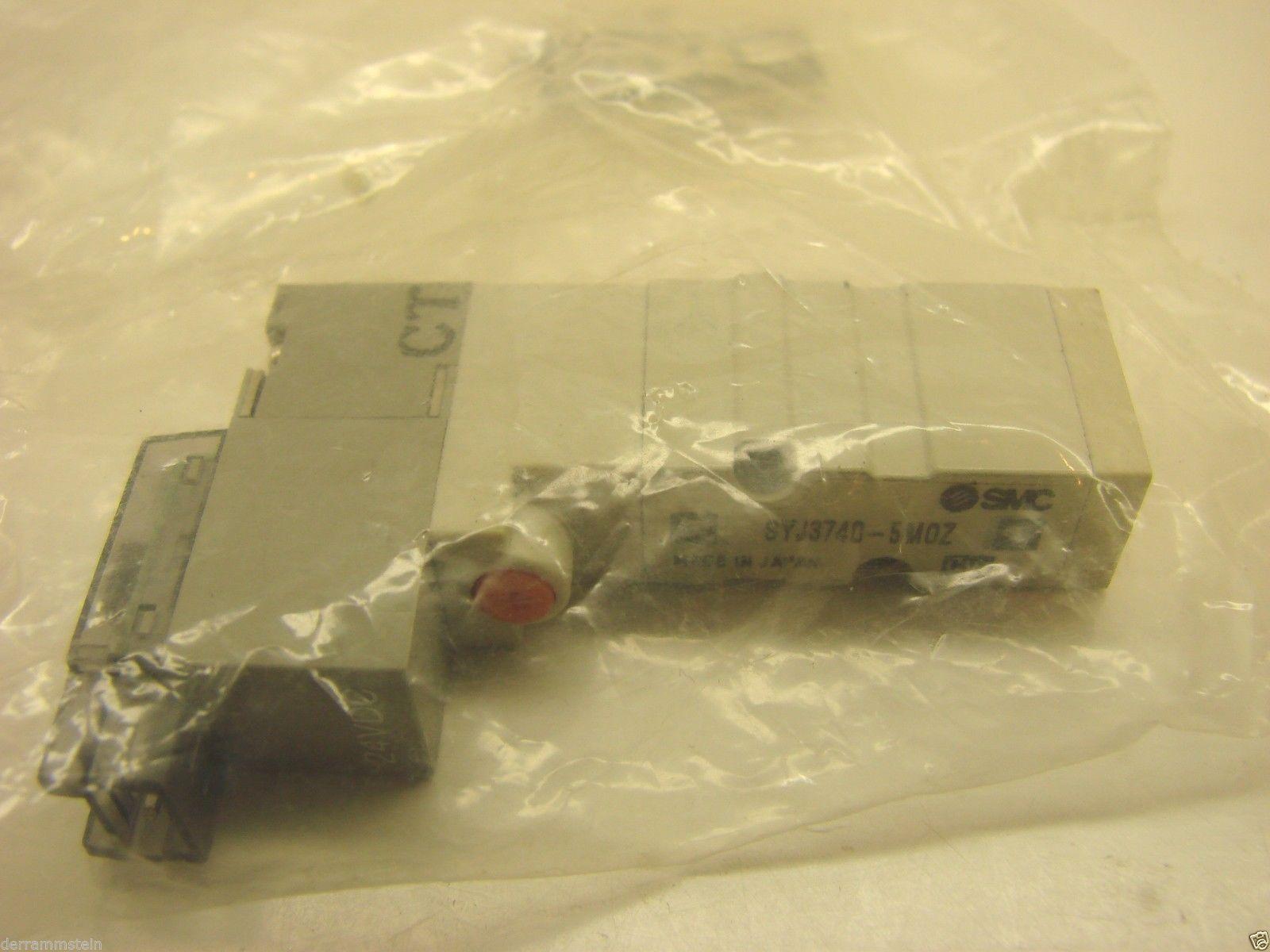 SMC SYJ3740-5MOZ Valve 4/5 Port Solenoid 24vdc NEW  b57
