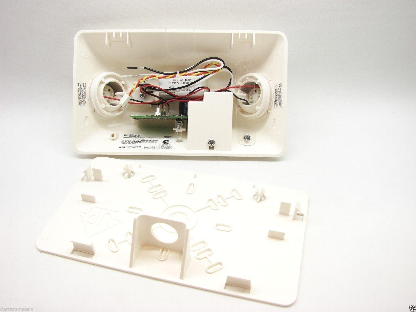 Hubbell Lighting Dual-Lite EV2 Wall Mounting Emergency Light LED NIMH White t17