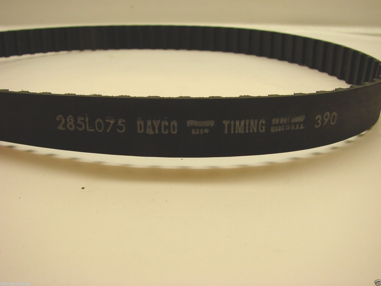 "Dayco 285L075 Timing Belt 3/4"" Width 3/8"" Pitch 76 Teeth b75"