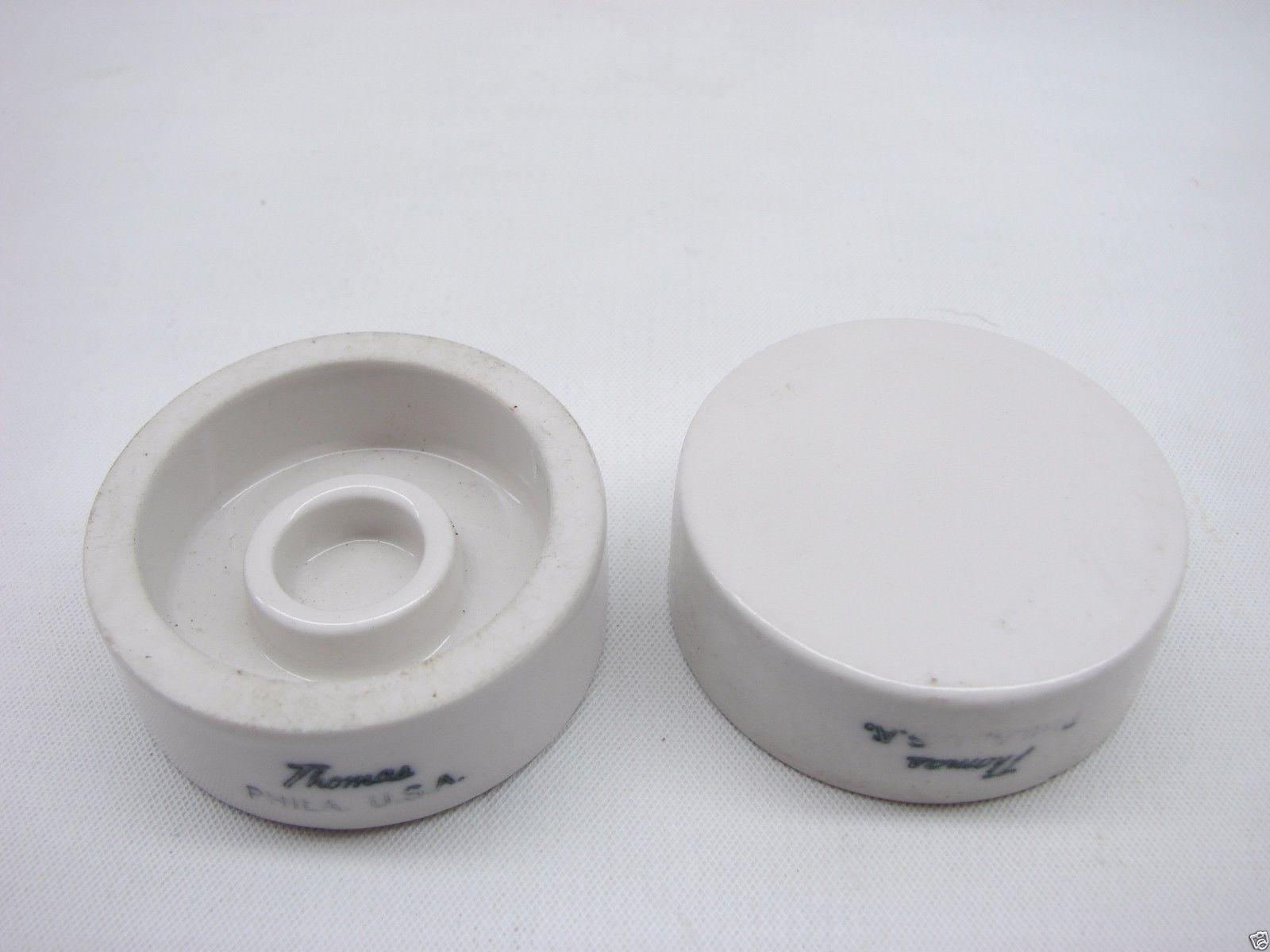 Lot Of 8 Thomas Ceramic Diffusion Dish 15mm 34mm ID Ring Diameter t170