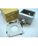 "Hubbell FD20-2 FD Pin & Sleeve Device Back Box 1"" Hubs 2-1/2"" Deep 47 CU... - $14.85"