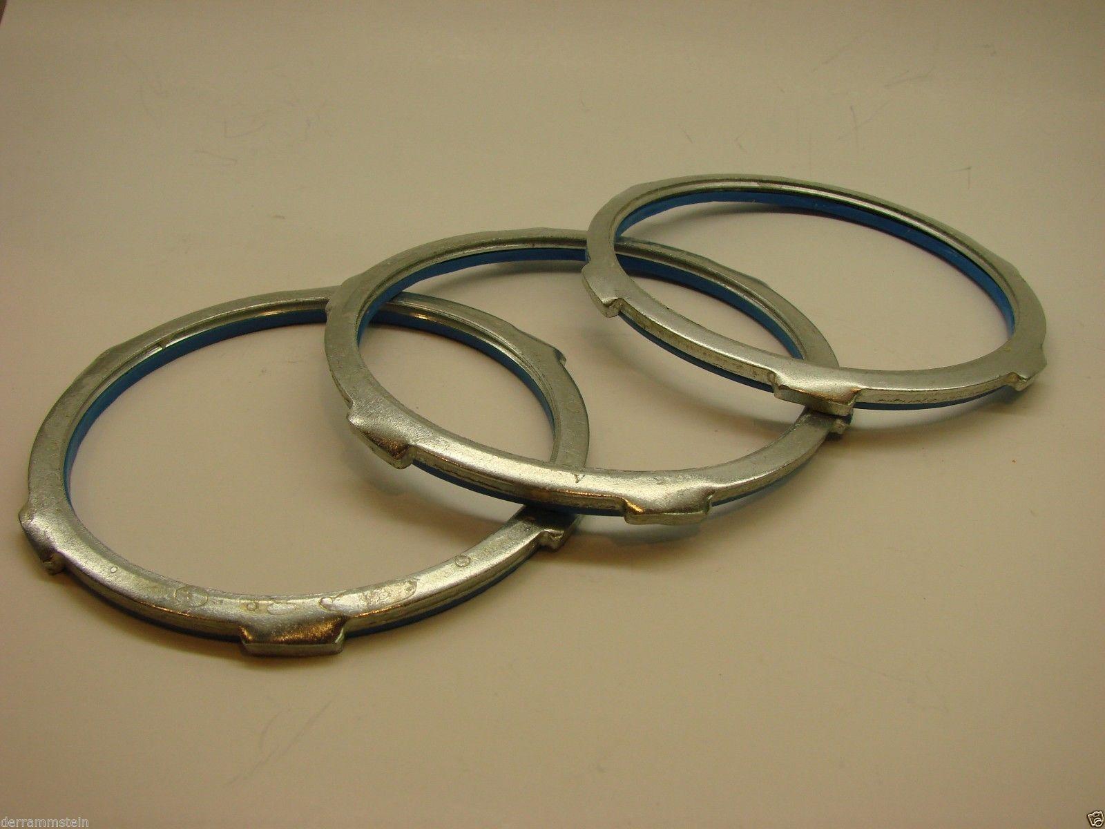 "Cooper Crouse Hinds SL10 Sealing Locknut, 4"" Size, Zinc Plated, Steel   B4"