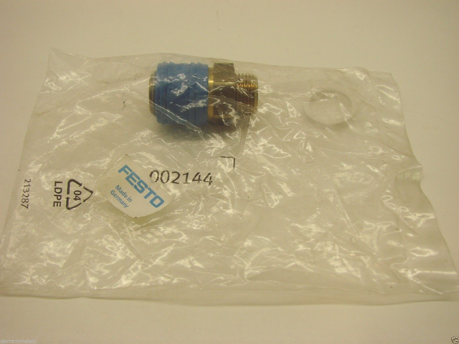 FESTO CONNECTOR 002144 Sealed New In Package  b59