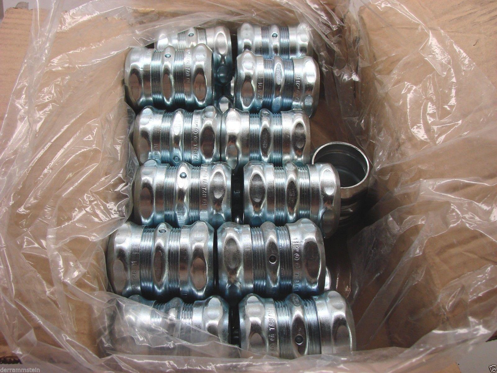 """22 - Steel City TK115A  1-1/2"""" EMT Compression Couplings bx"""