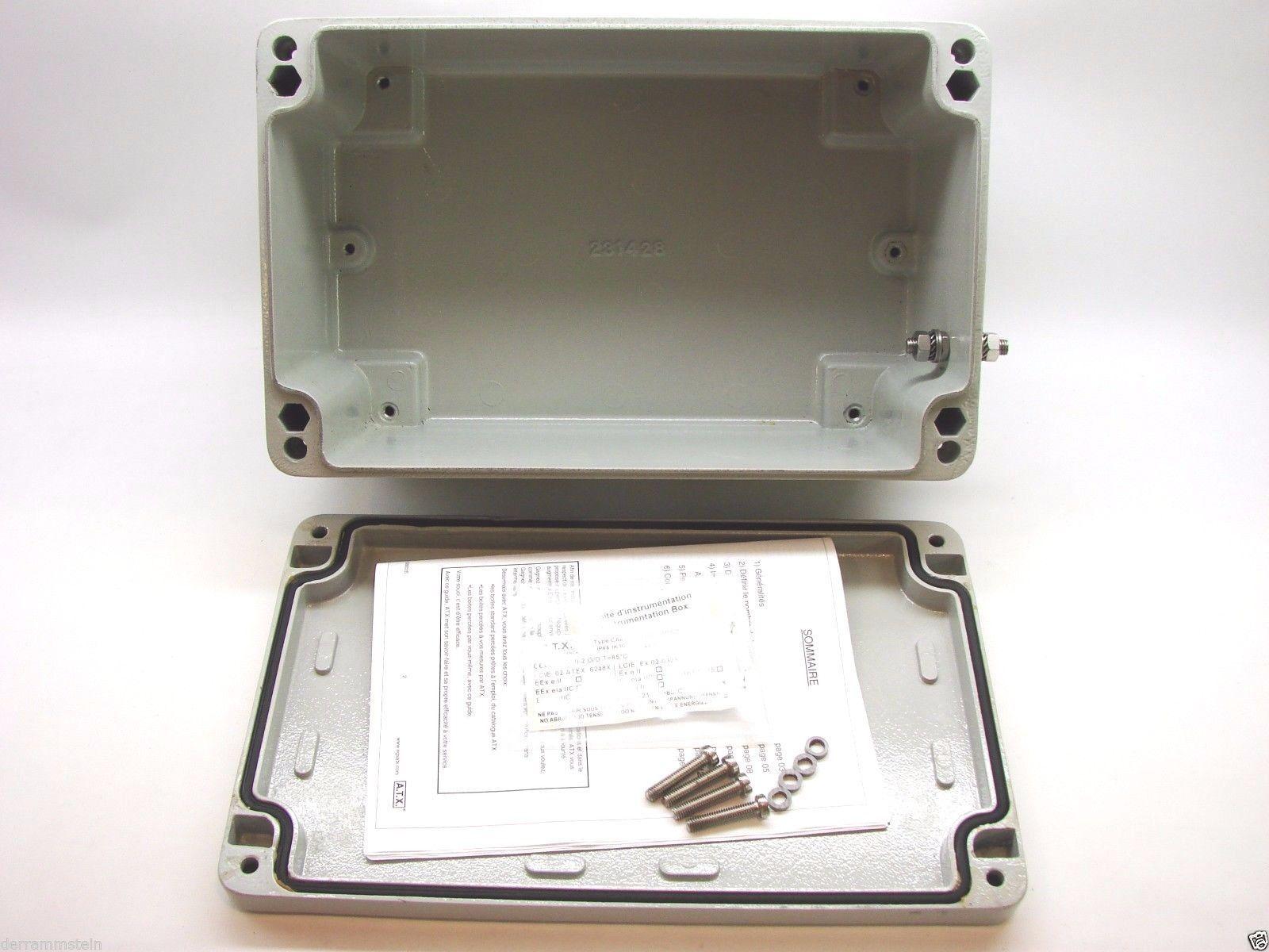 Appleton A.T.X. 095964/JBEA322013 Aluminum Junction Box Enclosure Zone 1&2 b118
