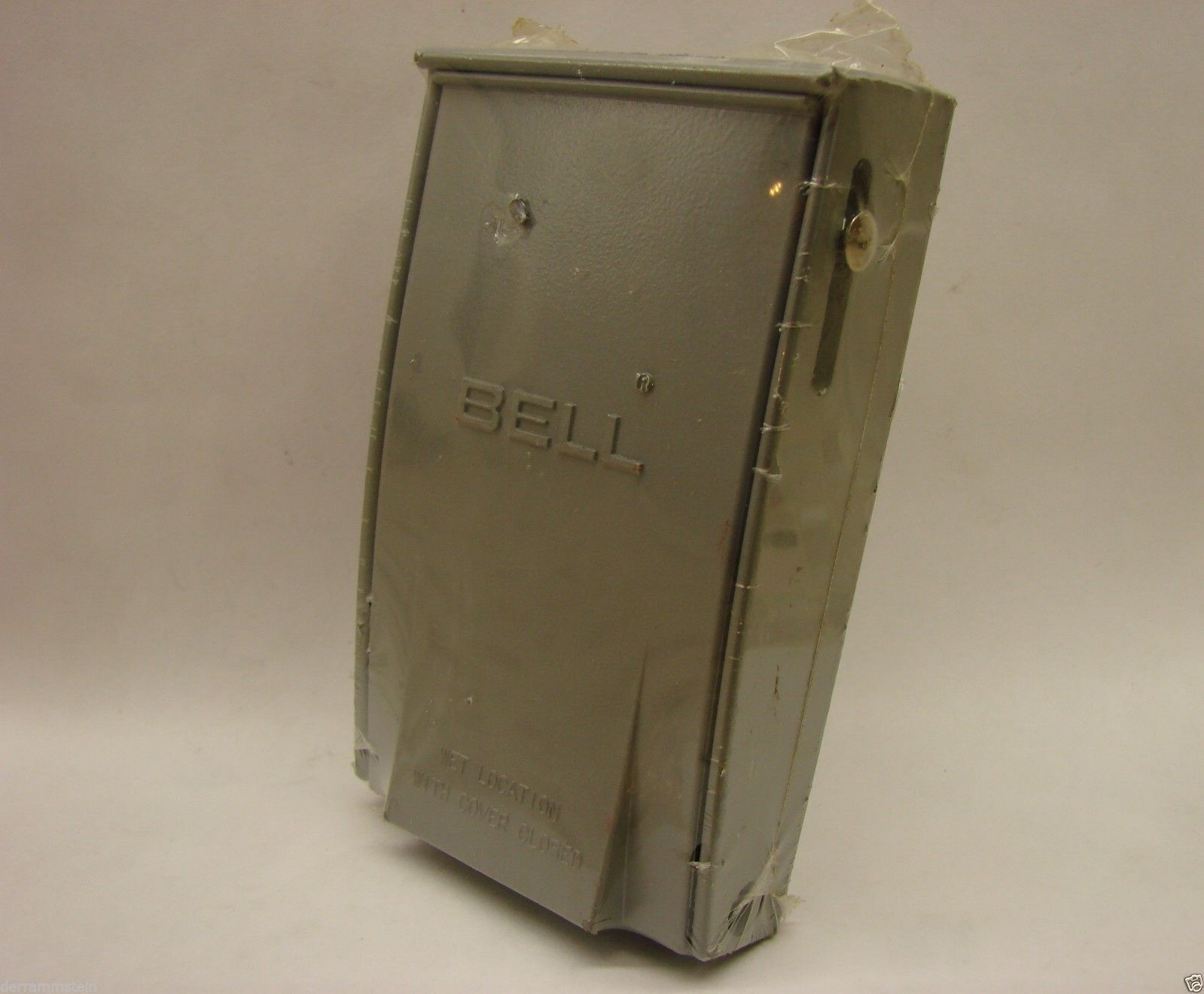 Bell 5028-0 Outdoor 1-Gang Vertical GFCI Weatherproof Cover Gray f3