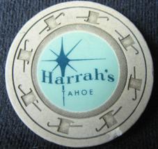 "Rare 1962 Roulette Casino Chip From: ""Harrah's Hotel & Casino Tahoe""- (s... - $49.96"