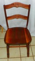 Solid Walnut Desk Chair / Dinette Chair  (BH) - $249.00