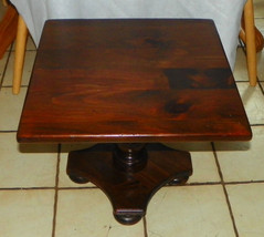 Pine Ethan Allen End Table / Side Table - $299.00