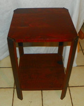 Solid Walnut Plant Stand / Side Table - $299.00