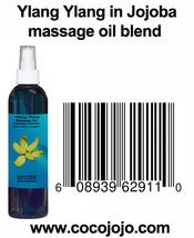 8 Oz Ylang Ylang in Jojoba 100% Natural Massage... - $18.99