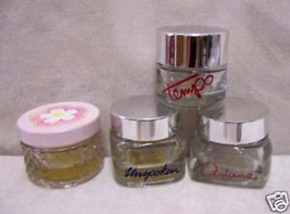 4 AVON CREAM CONTAINERS JARS  .66 OZ EACH  EMPT... - $5.93