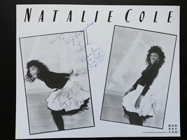 Natalie Cole Hand-Signed Autograph 8x10 With Lifetime Guarantee  - $100.00