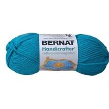 Bernat Handicrafter Cotton Yarn Solids Mod Blue 162101 80 Yards Medium 4... - $6.19